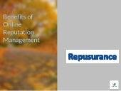 Benefits of online reputation management