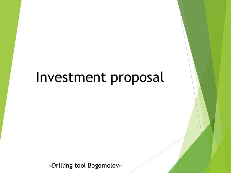 Presentation   Drilling Tool Bogomolov