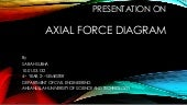 PRESENTATION OF AXIAL FORCE DIAGRAM by 10.01.03.132