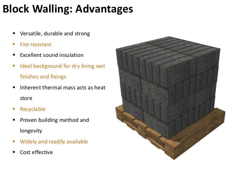 Concrete Block Walling