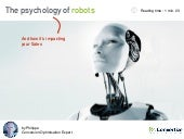 The psychology of robots - Neuroscience and e-commerce