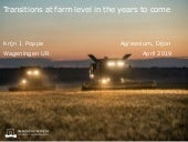 Trends for future farming