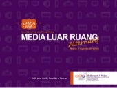 Media Luar Ruang Alternatif