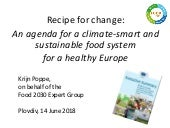 Recipe for Change ppt Plovdiv