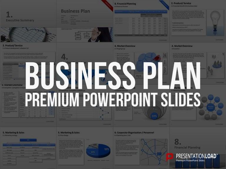 Business Plan PPT Slide Template