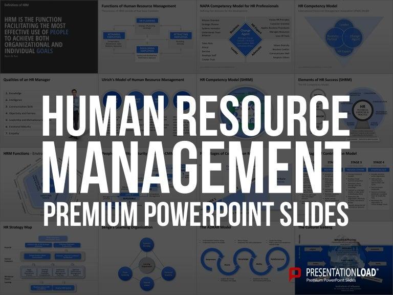 human resource management powerpoint template
