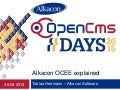 OpenCms Days 2015 OCEE explained