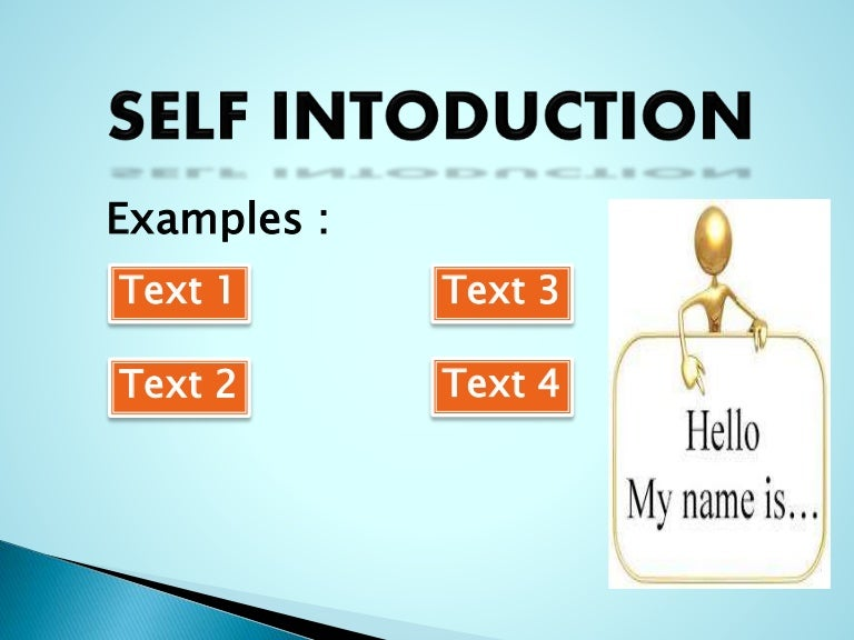 Self Introduction Powerpoint Presentation – bellacoola.co