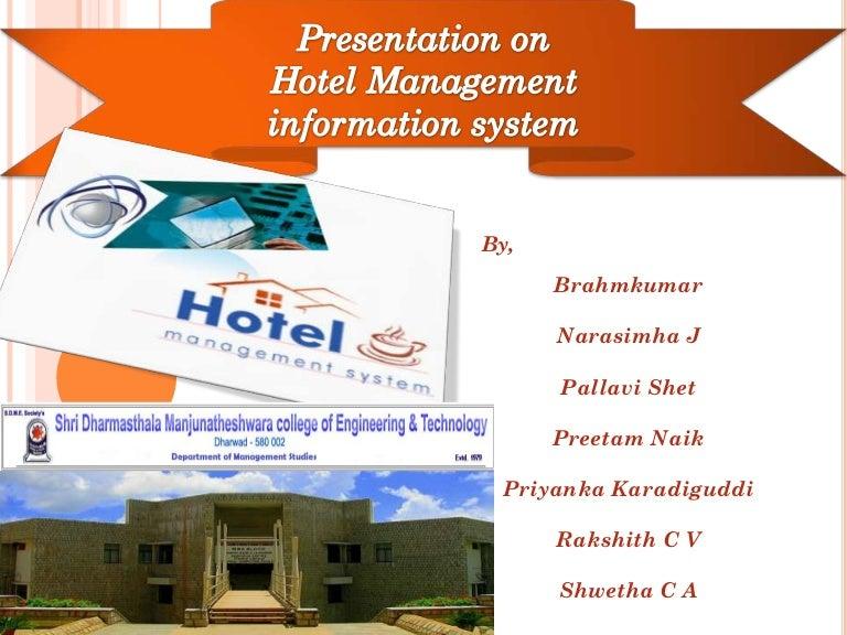 Information system presentation assignment 1 (management information ….