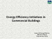 ECBC Training_Energy Efficiency Initiatives in Commercial Buildings