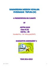 Presentation on climate