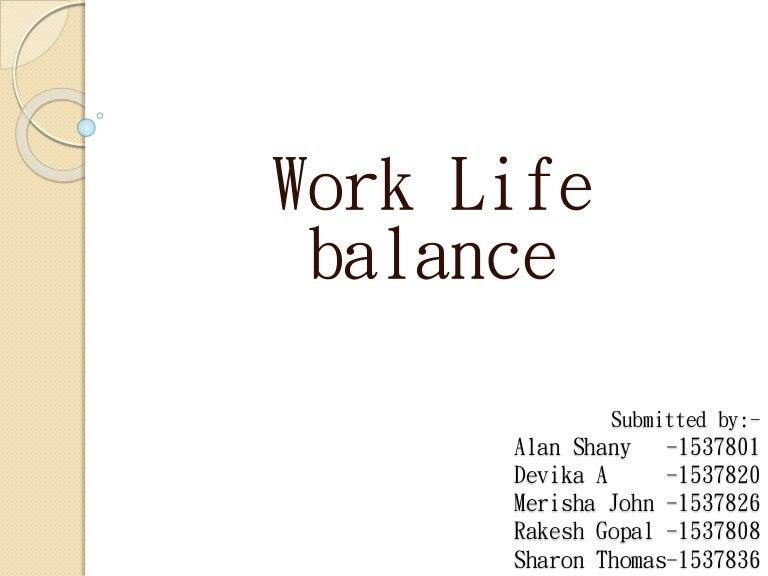 Work life balance myth creates stress and anxiety