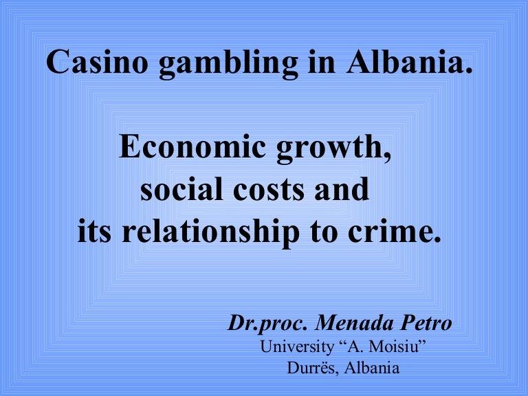 Social costs associated gambling yellow head casino