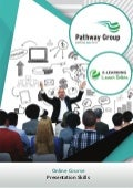 Presentation Skills, Online Business Courses, E-learning Pathway Courses, Pathway Group