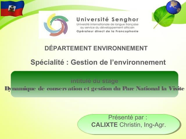 Presentation stage master  Calixte_FS