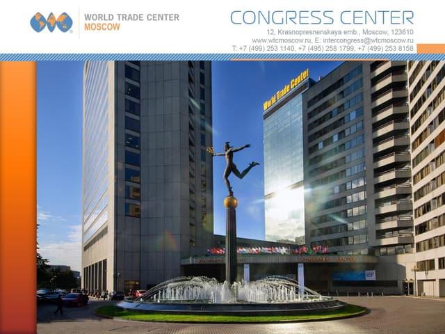 WTC Moscow Congress Center