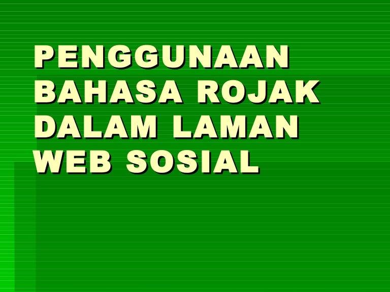Present Bahasa Rojak