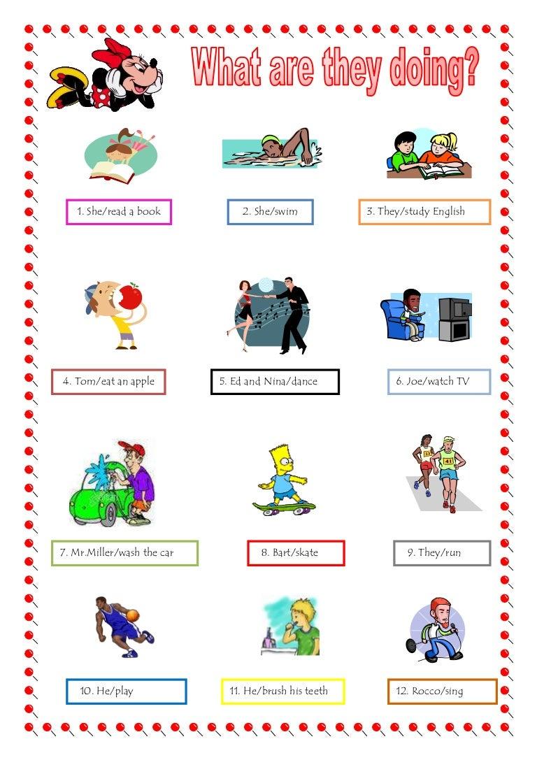 Present Progressive Worksheet Free Worksheets Library – Spanish Present Progressive Worksheet