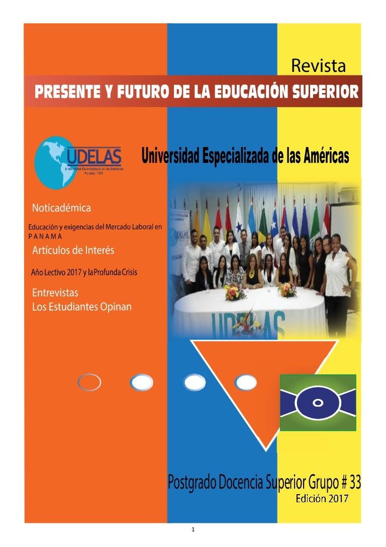 Revista Presente y Futuro de la Educación Superior