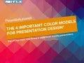 The 4 important color models for presentation design