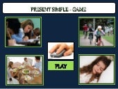 Present simple game: affirmative and negative