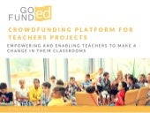 GoFundEd_crowdfunding for teachers projects