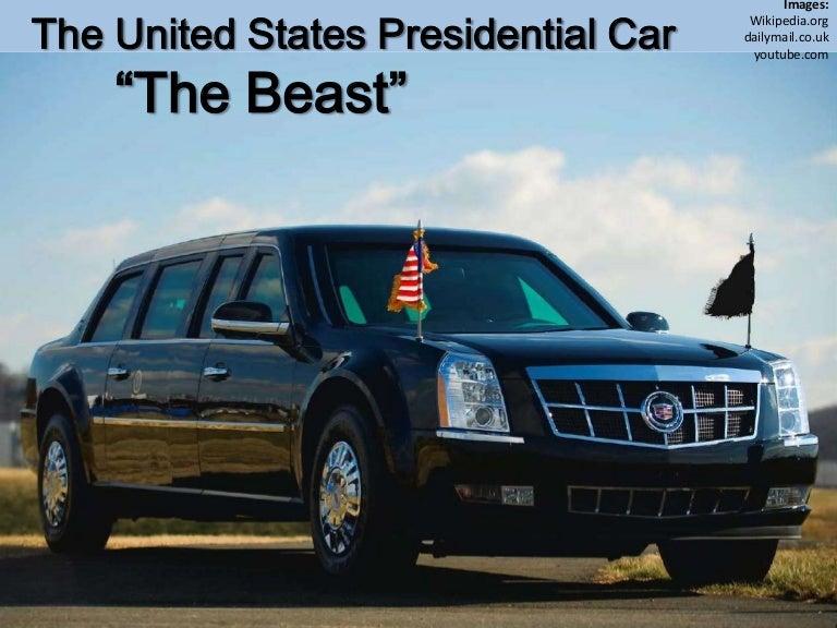 The 2009 Presidential Car - Cadillac One