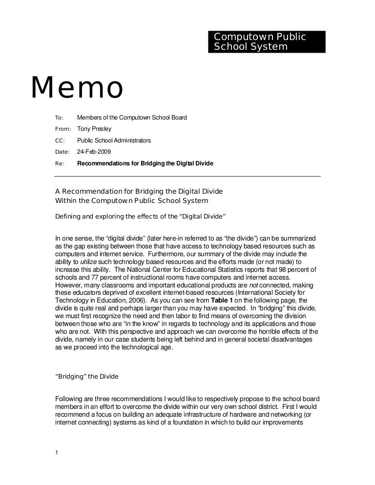 Board Memo Template  Executive Memo Samples Sample Executive