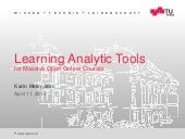 Learning Analytics Tools