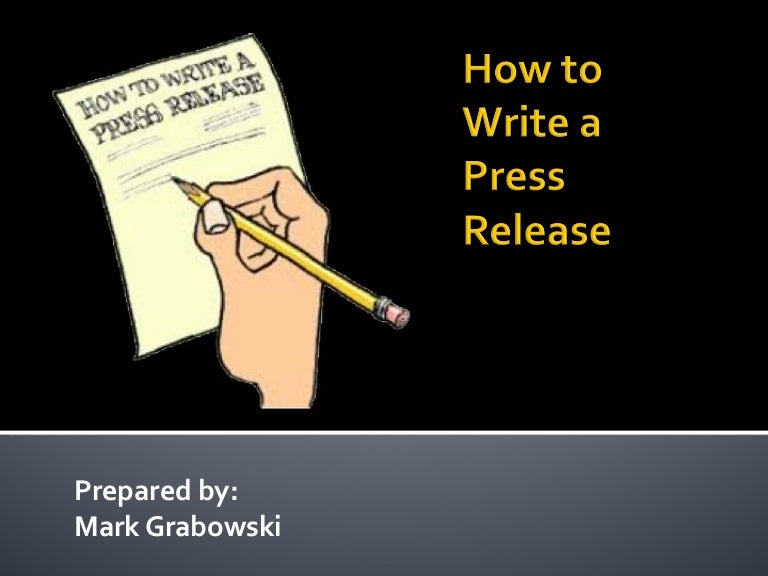 how to write press releases A press release, also called a news release or media release, is an official statement that an organization sends to members of the media it is most commonly in the form of a one-page written document, but may also be a video or audio recording.