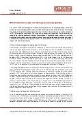 Press Release Global Clothing B2C E-Commerce Report 2013