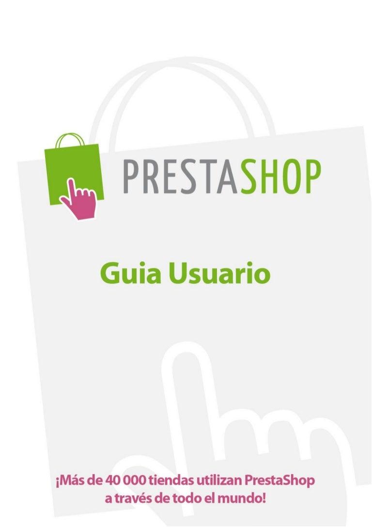 Presta shop versión 1.3 – guía del usuario