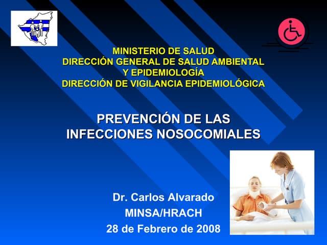 Prevención de las infecciones nosocomiales