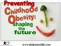Tips to prevent childhood obesity