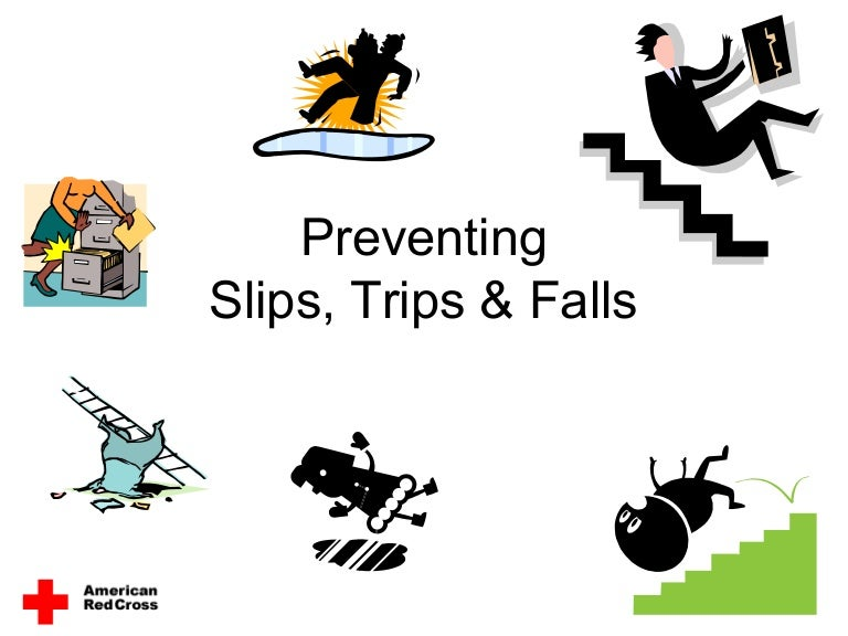 Preventing Slips Trips Amp Falls By American Red Cross