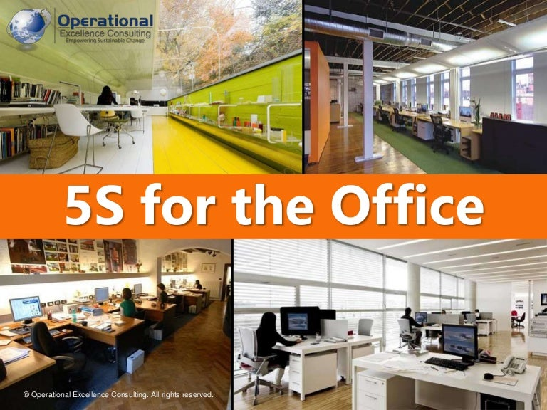 5s for the office by operational excellence consulting for 5s office design