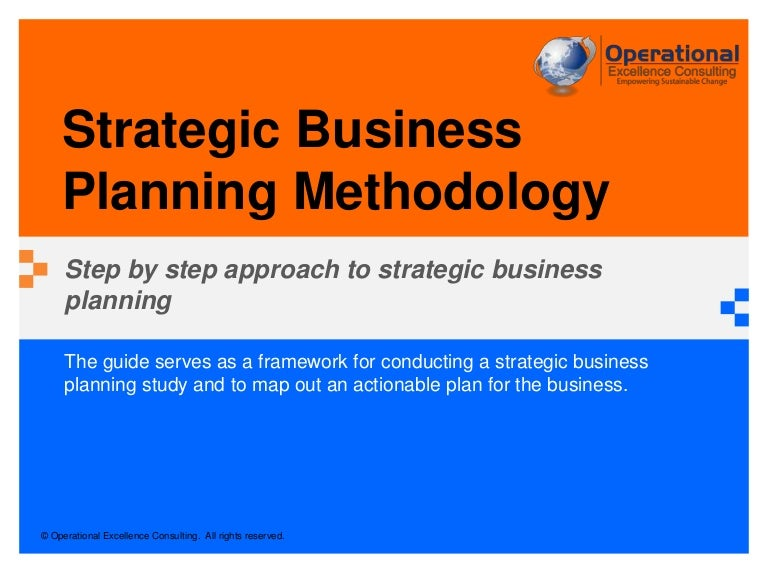 Strategic business planning methodology by operational excellence con malvernweather Image collections