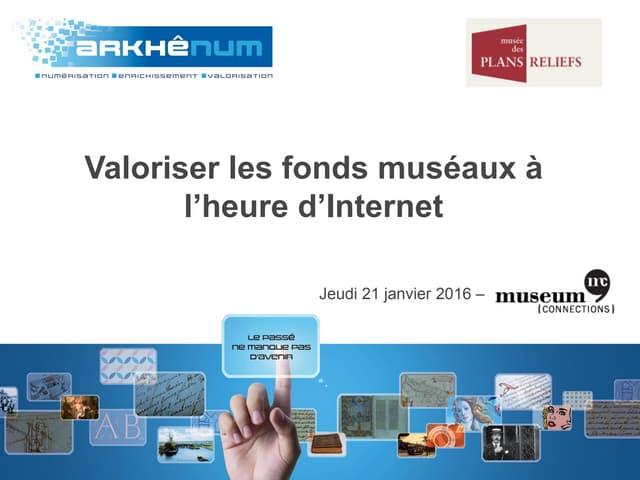 Valorisation en ligne des fonds du Musée des Plans-reliefs