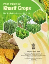 Price Policy for Kharif Crops: The Marketing Season 2017-18