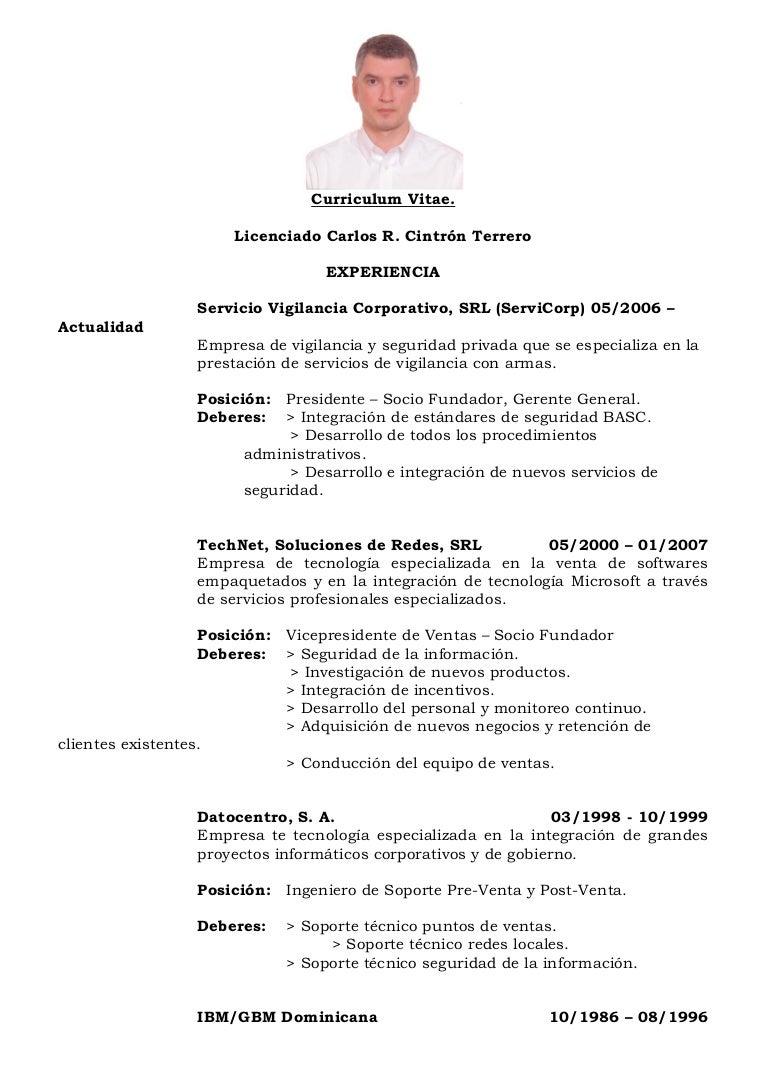 LICENCIADO CARLOS R. CINTRÓN TERRERO
