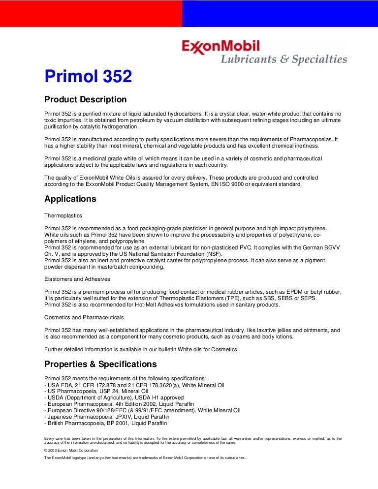 Primol 352