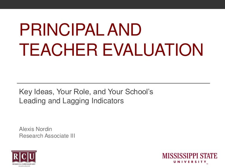 Principal And-Teacher-Evaluation-Key-Ideas-Your-Role-And-Your-School'…
