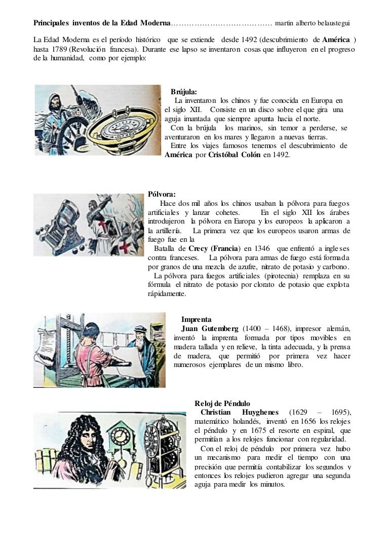 4 inventos