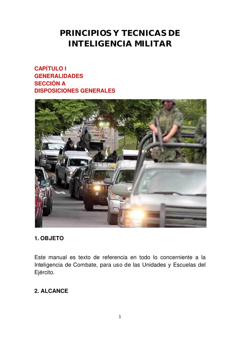 Manual. De. Inteligencia,militar.