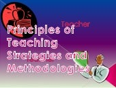 Principle of teaching made easy by Boyet b. aluan