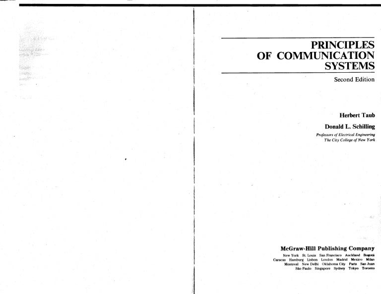 principles of communication systems by herbert taub and donald l schi rh slideshare net Textbook Solution Manuals Calculus Student Solutions Manual PDF