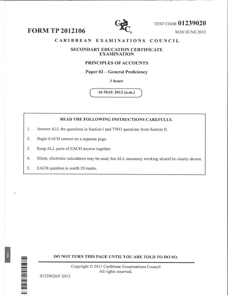 Principles Of Accounts For The Caribbean Pdf