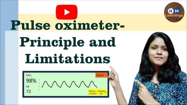 How Pulse oximeter works- Principle and Limitations I SpO2 I Respiratory Physiology I COVID