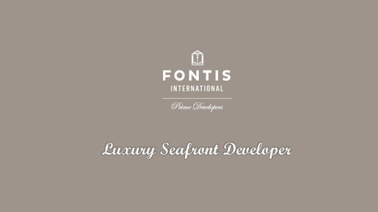Fontis international properties and investments architectural investment ny