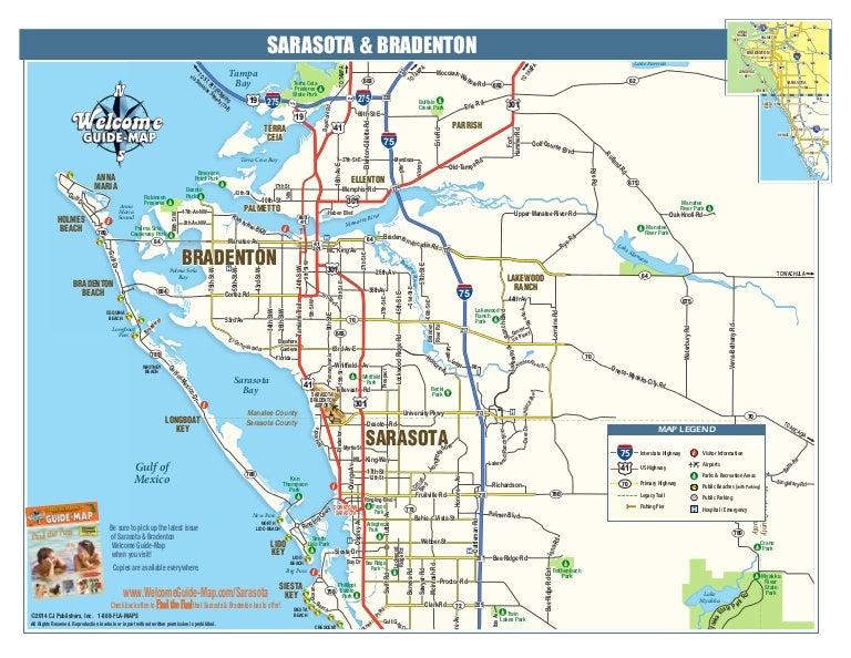 Holmes Beach Florida Map.A Map Of Beautiful Sarasota